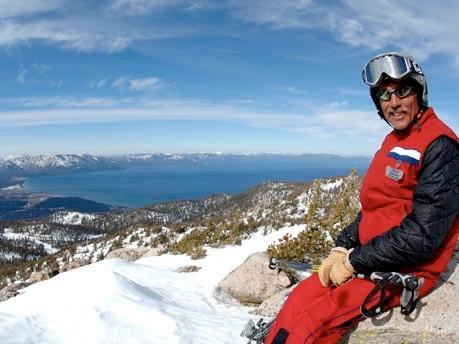 Skigebiet Heavenly, Kalifornien, USA, Herbke