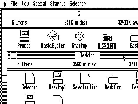 Apple GUI