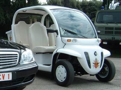 elektroauto; reuters papst