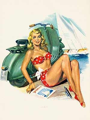 Kalenderblatt von 1953