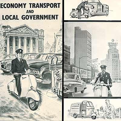 1955 - 1956, Australien-Werbung