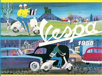 1955 Vespa France