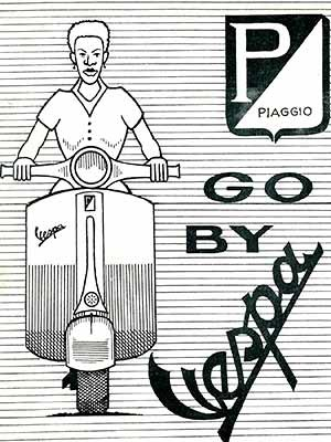 1960 Vespa Kenia