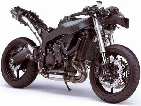 Motorrad Kawasaki ZX-6R Ninja