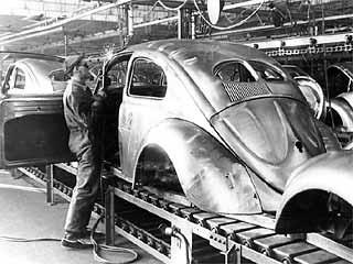 fertigung Käfer 1937