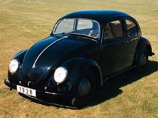 endgültige Käferform 1938