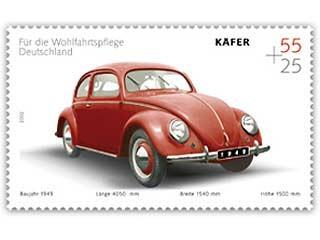Käfer-Briefmarke