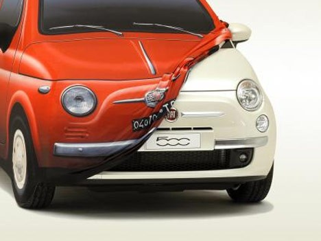 Fiat 500 LED-Licht Scheinwerfer