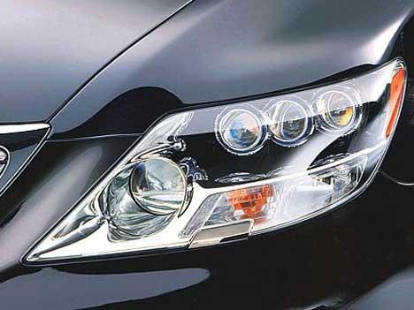 Lexus LS 600h LED-Licht Scheinwerfer