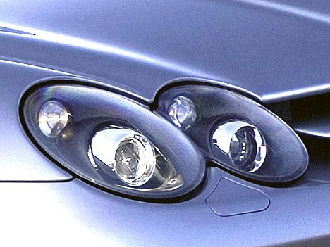 Mercedes SLR McLaren LED-Licht Scheinwerfer