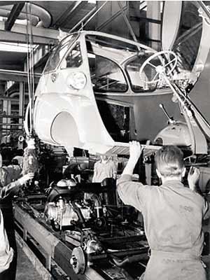 Isetta-Montage
