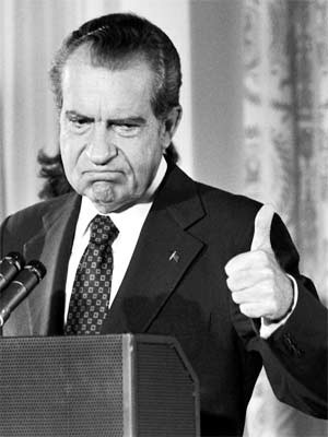 Richard M. Nixon; Quelle:dpa