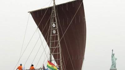 Steinzeit-Segeln: Das Schilfschiff