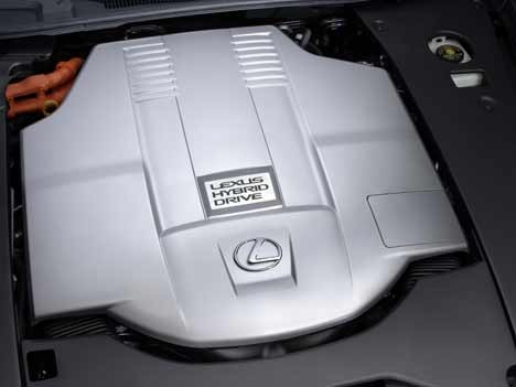 Lexus Hybrid LS 600h
