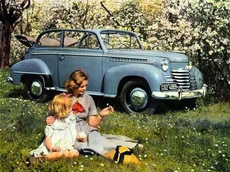 Opel Olympia Cabrio Limousine, 1950