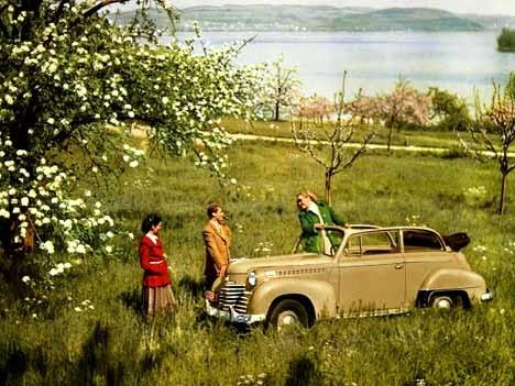 Opel Olympia Cabrio Limousine, 1951