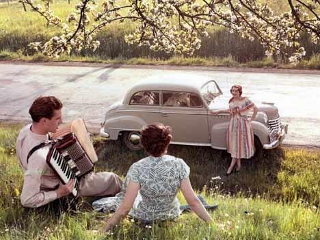 Opel Olympia Limousine, 1952