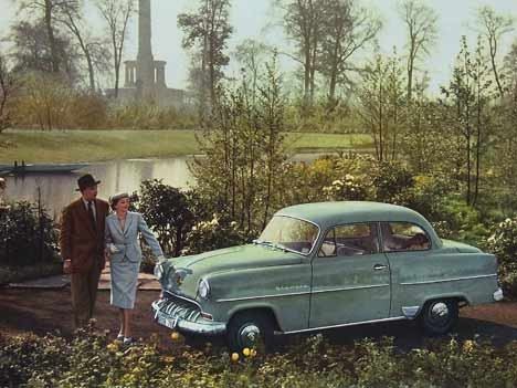 Opel Olympia Rekord, 1954
