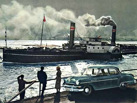 Opel Kapitän, 1954