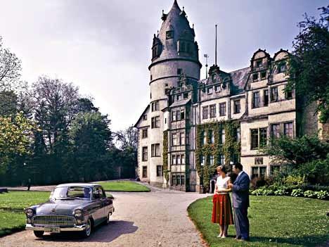 Opel Kapitän, 1955
