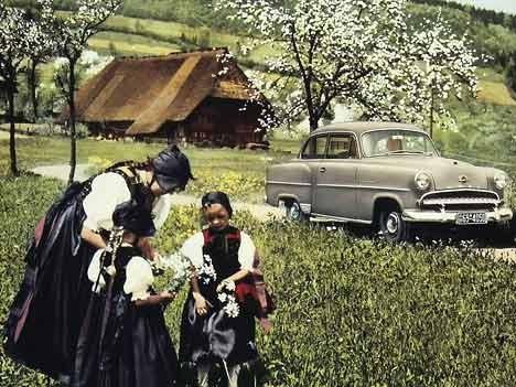 Opel Olympia Rekord, 1955