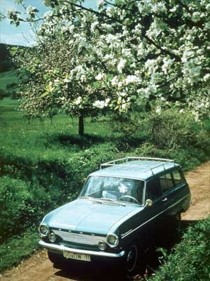 Opel Kadett A Caravan, 1963