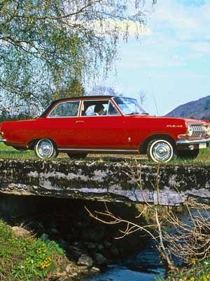 Opel Rekord A, 1963