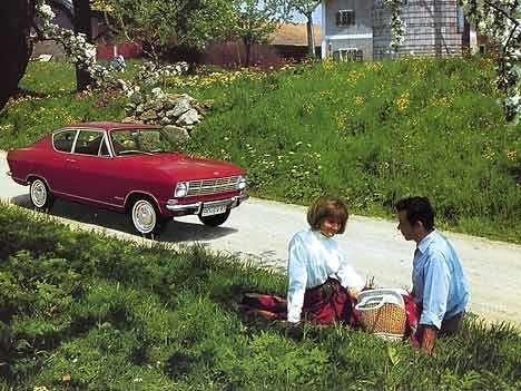 Opel Kadett B L Coupé, 1966