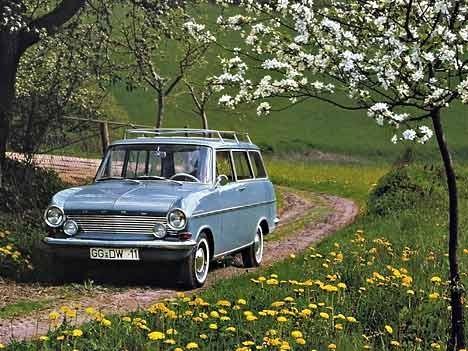 Kadett A Caravan, 1965