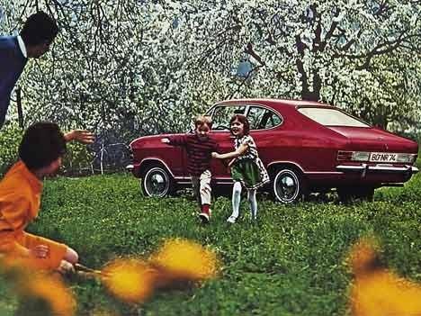 Opel Olympia A, 1968