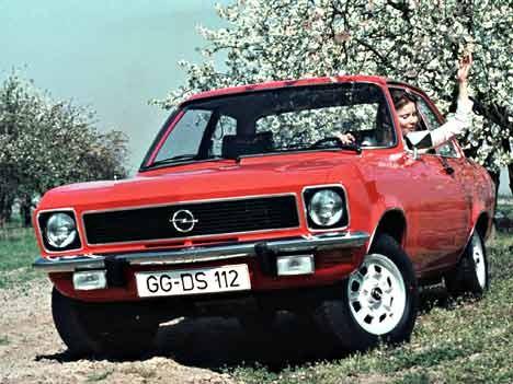 Opel Ascona A Luxus, 1974