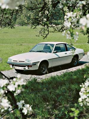 Opel Manta B Luxus, 1976