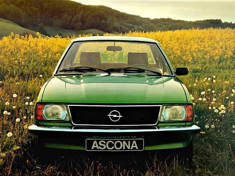 Opel Ascona B, 1978