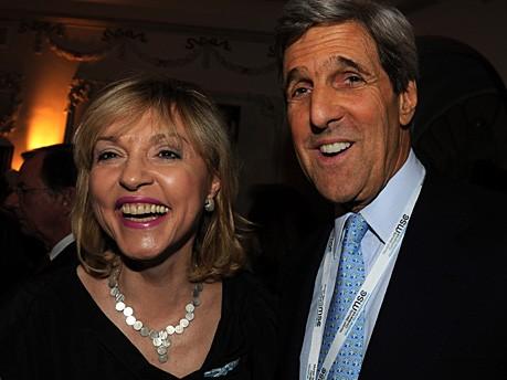 Beate Merk John Kerry Seybolt Käfer Sicherheitskonferenz Foto: Stephan Rumpf