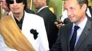 Sarkozy und Gaddafi