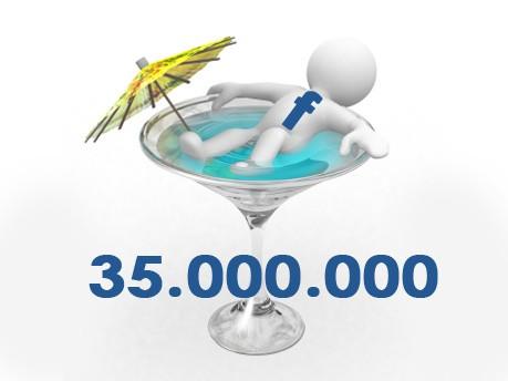 Facebook Status Aktualisierung Statistik