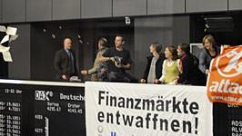 Attac Frankfurt Börse AP