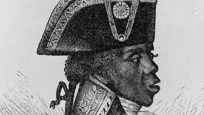 Geschichte von Haiti: Das Portrait von 1791 zeigt Haitis Nationalhelden François-Dominique Toussaint L'Ouverture. Er war einer der Anführer der Revolution in Haiti und Autor der ersten Verfassung.
