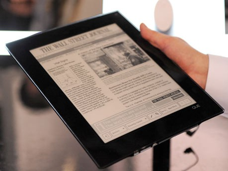 E-Book-Reader Que Plastic Logic