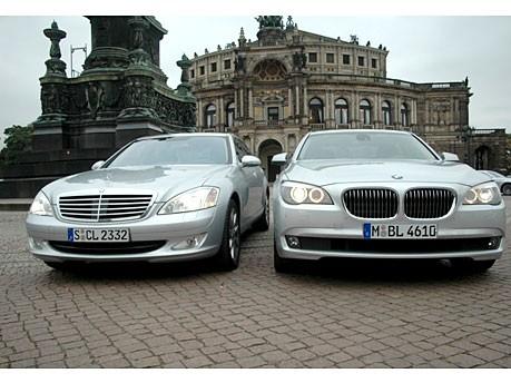 Vergleich Mercedes S-Klasse BMW 7er