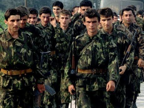 Bosnisch-serbische Truppen; Reuters