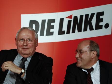 Oskar Lafontaine, Gregor Gysi; Foto: Reuters