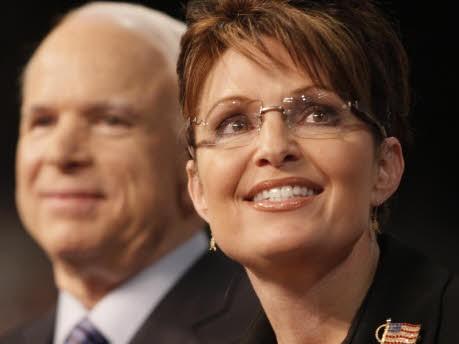 McCain, Palin; AP
