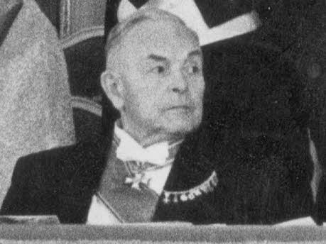 Hans Ehard, 2. CSU-Vorsitzender (1949-55), dpa
