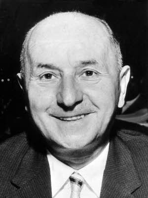 Hanns Seidel, 3. CSU-Vorsitzender (1955-61), dpa