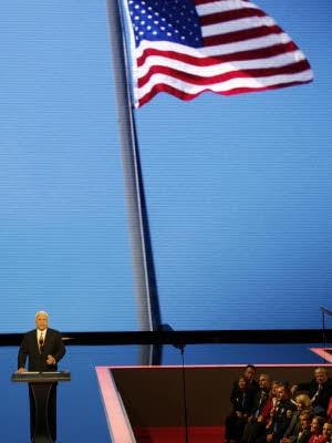 John McCain in St. Paul; Reuters