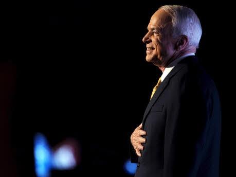John McCain in St. Paul; dpa