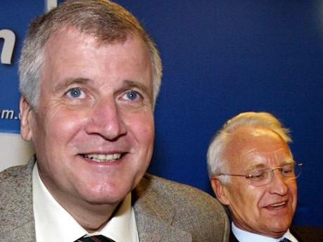 Horst Seehofer und Edmund Stoiber, AP