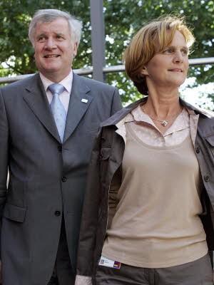 Horst und Karin Seehofer, dpa