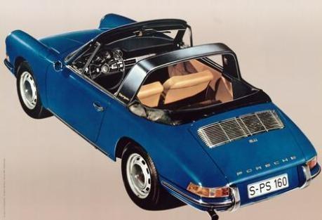 Porsche 911 Targa Werbung 1965
